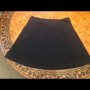 Athleta Black Athletic Skirt Size Large Petite